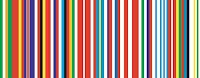 25 state version of Rem Koolhaas' EU barcode flag