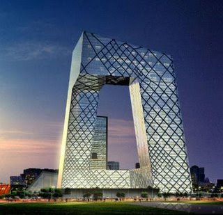 CCTV headquarters in Beijing designed by AMO/Rem Koolhaas
