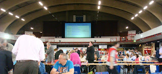 Verification at Kings Hall Belfast for European Elections 2009
