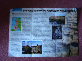 Answers in Genesis - Giants Causeway leaflet