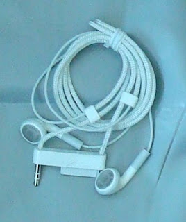 Apple lanyard headphones for second generation Nano