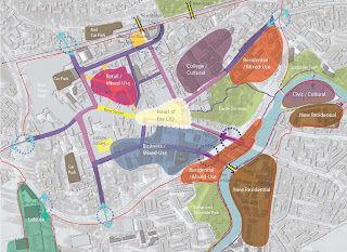 Framework plan - Lisburn Masterplan