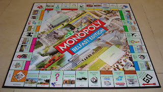 Monopoly board for the new Belfast edition