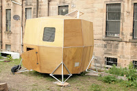 Replica of Kan Isaacs' micro home - Urban Nomad