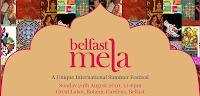 Belfast Mela banner