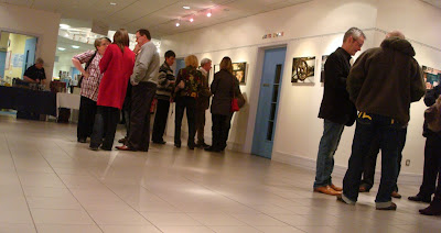 Opening of David Cleland's Through the Mill exhibition