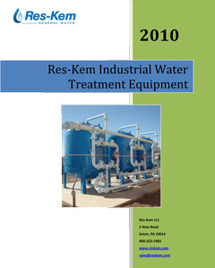 Res-kem Industrial Water Treeatment Catalog