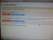 3= moderare comment