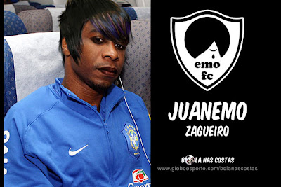 emo, jogador, futebol