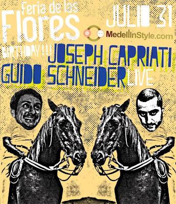 GUIDO SCHNEIDER & JOSEPH CAPRIATI @ Medellin 31 de Julio