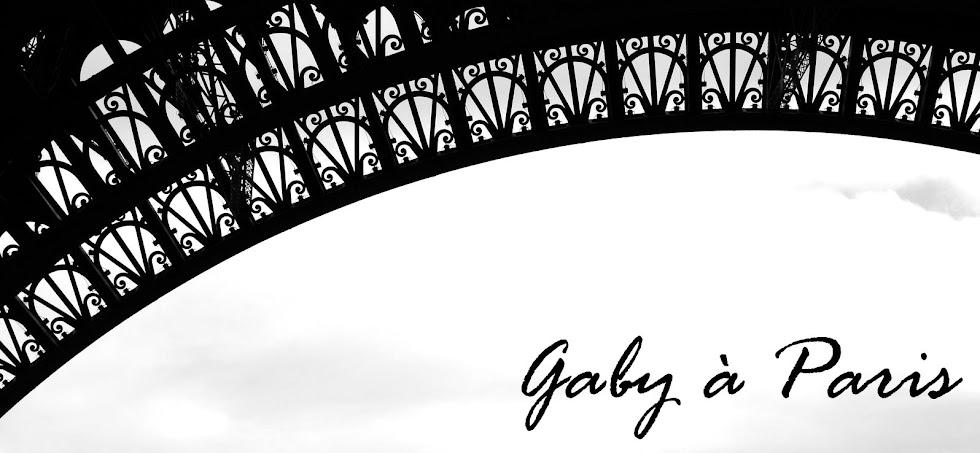 Gaby à Paris