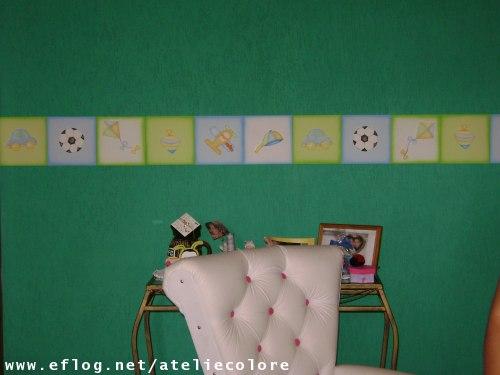 Ateliê Colorê Decoração de quartos infantis Quartinho do Pedro Henrique