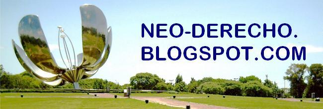 Neo - Derecho. Informacion de catedras Bitacora Libros de derecho, Facultad de Derecho UBA