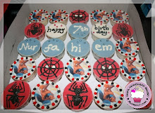 Spiderman Theme Cupcakes