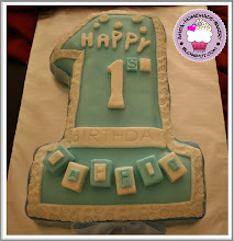 Number Fondant Cake