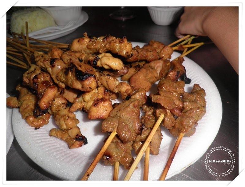 Journey of my life in dubai uae satay hj samuri sg buloh for Arz lebanese cuisine