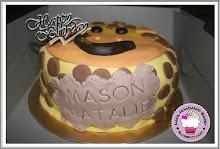 Animal Fondant Cake