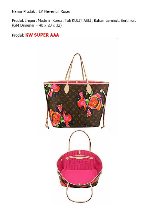 LV Neverful Rose Rp. 910 rb