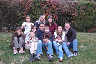 Dennis Family at Thanksgiving