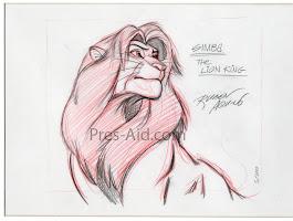 Lion King Pride Rock Drawing