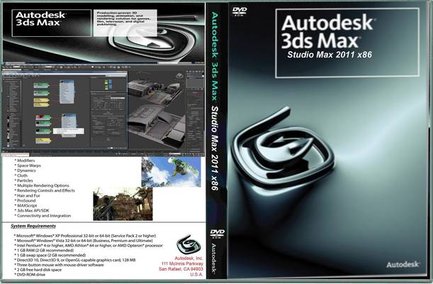 Dowbload Autodesk 3ds Max 2011