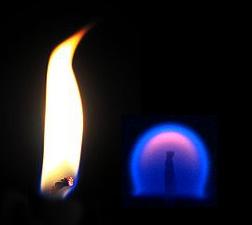 Fuego en microgravedad