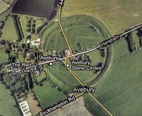 Circulo de piedras - Avebury