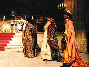 Los Tres Reyes Magos de Oriente