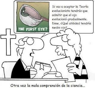 Evolucion ojo - creacionismo