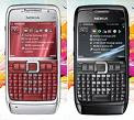 Nokia E71 Read & Black