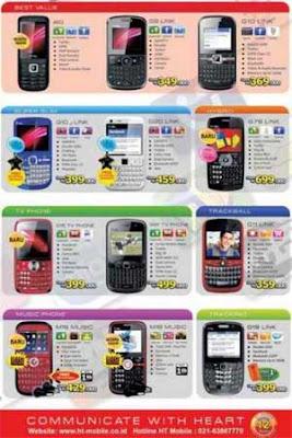 Harga Promo Hape HT-Mobile