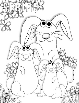spring coloring pages for kids. spring coloring pages for kids