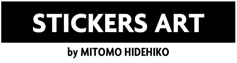 STICKERS ART by MITOMO HIDEHIKO