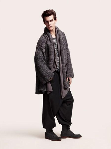 Long Cardigan Mens Fashion