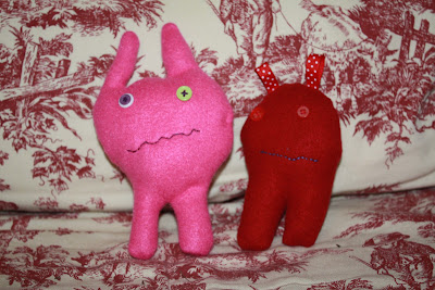 make these ugly dolls with