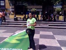 Entrega de Semillas de Girasol en Chacaíto