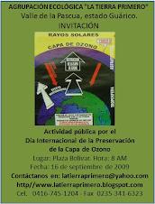 Invitación: Celebración del Día Internacional de la Preservación de la Capa de Ozono