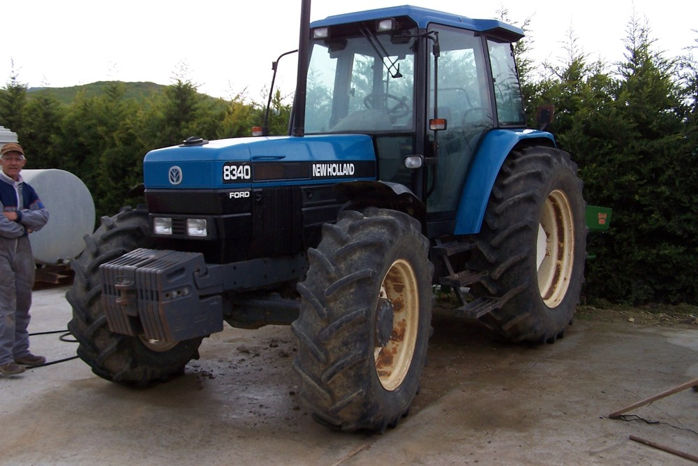 new holland ford mod 8340 dt same silver 130 dt new holland tm 175