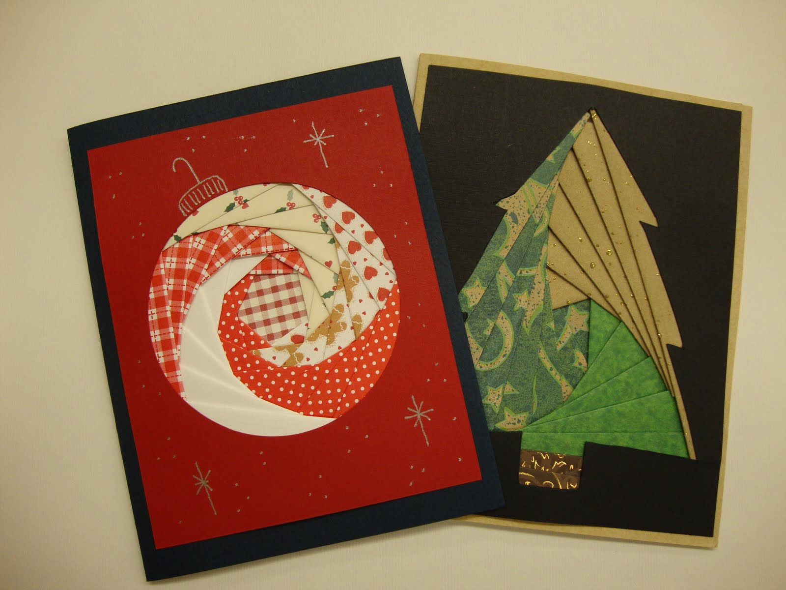art escape studio iris fold christmas card