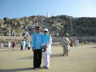 Jabal Rahmah - Bertemunya Nabi Adam dan Siti Hawa