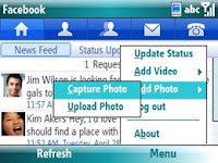 Facebook Application for Windows Mobile
