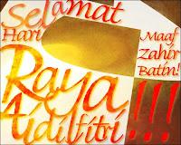 SetyoBudianto.com mengucapkan 'Selamat Hari Raya Idul Fitri 1430H, Mohon Maaf Lahir dan Batin'