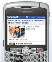 Facebook in BlackBerry