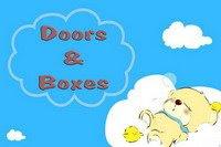 Placas de porta e caixas