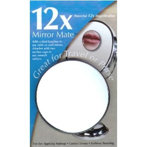 Lighted Makeup Mirror Wall