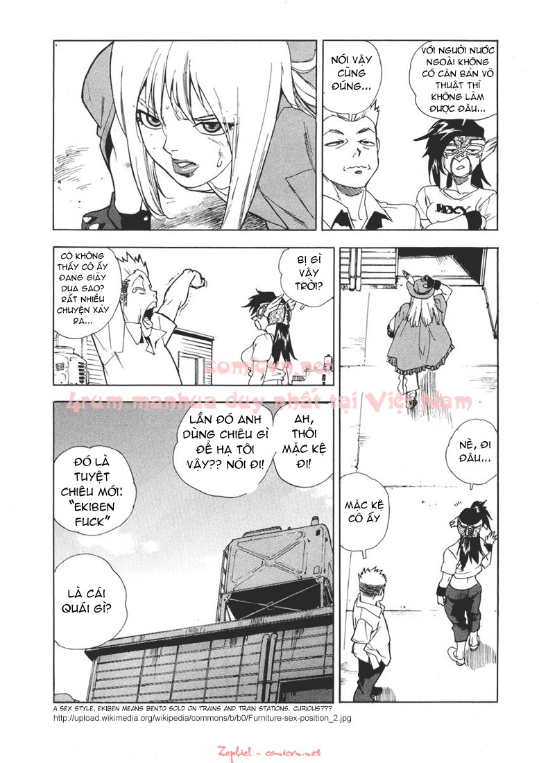 Aiki chap 21 - Trang 16