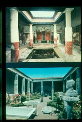 Historia del arte la arquitectura y la escultura romana for Atrio dentro casa