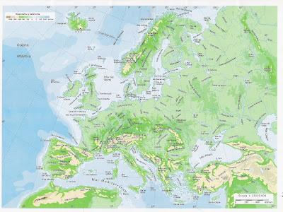 mapa de europa. Mapas de Europa