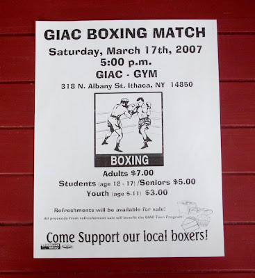 Ithaca boxing rocks!