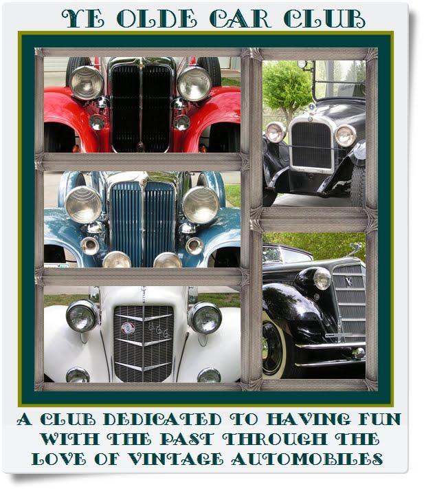 YE OLDE CAR CLUB